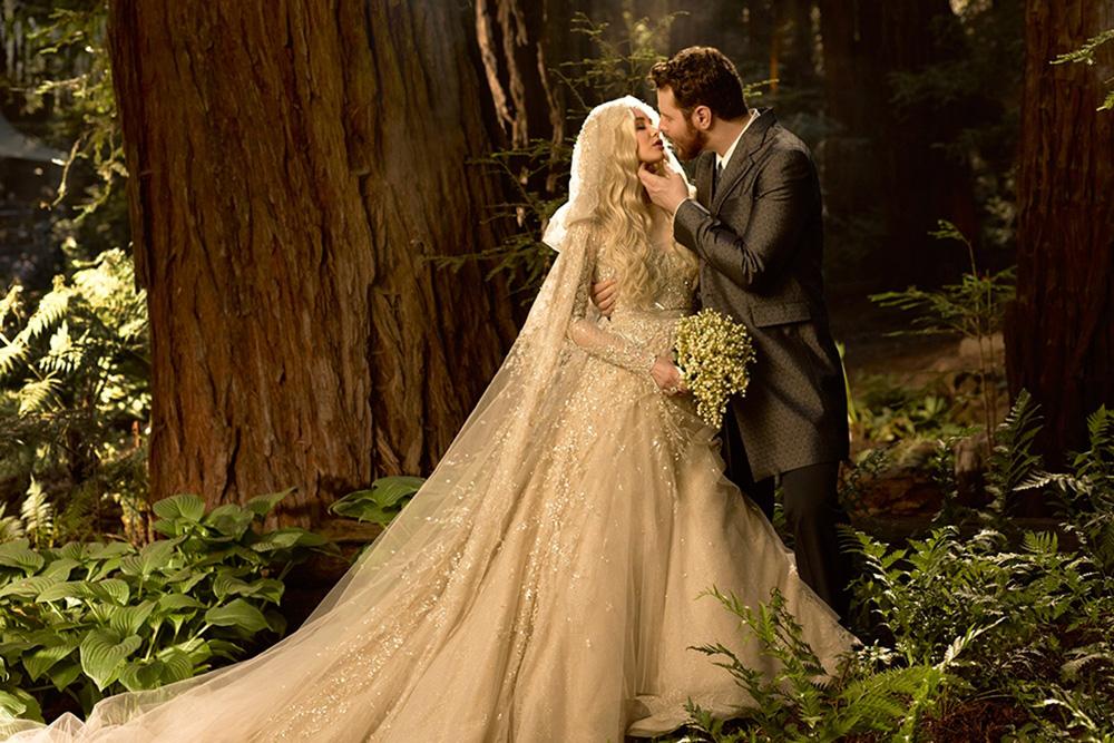 Het Huwelijk Van Sean Parker